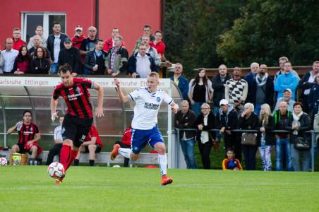 Marius Mößner erzielte zwei Treffer gegen den Tabellenführer. Foto: R. Nowotny